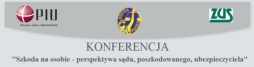 Zaproszenie na konferencję w sprawie szkód na osobie